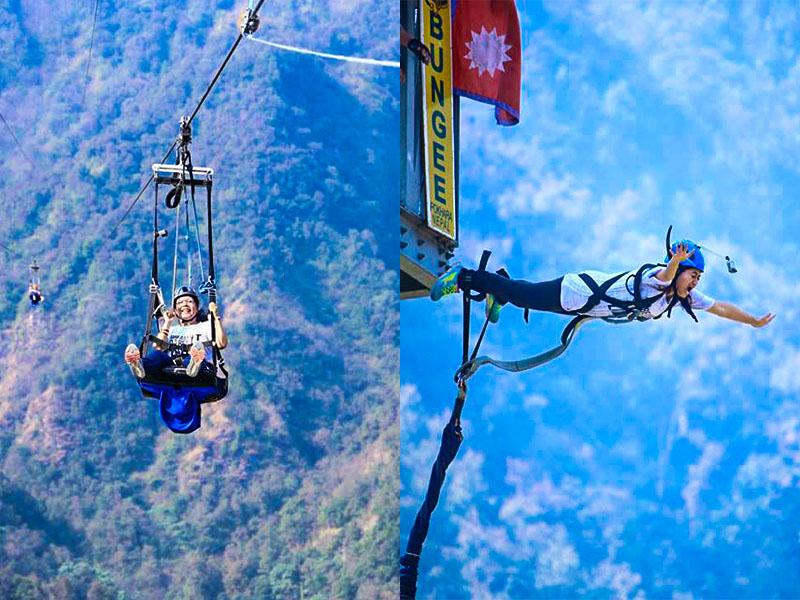Bungee-ziplining-nepal-tallest-steepest-longest-3sisters-adventure-trekking