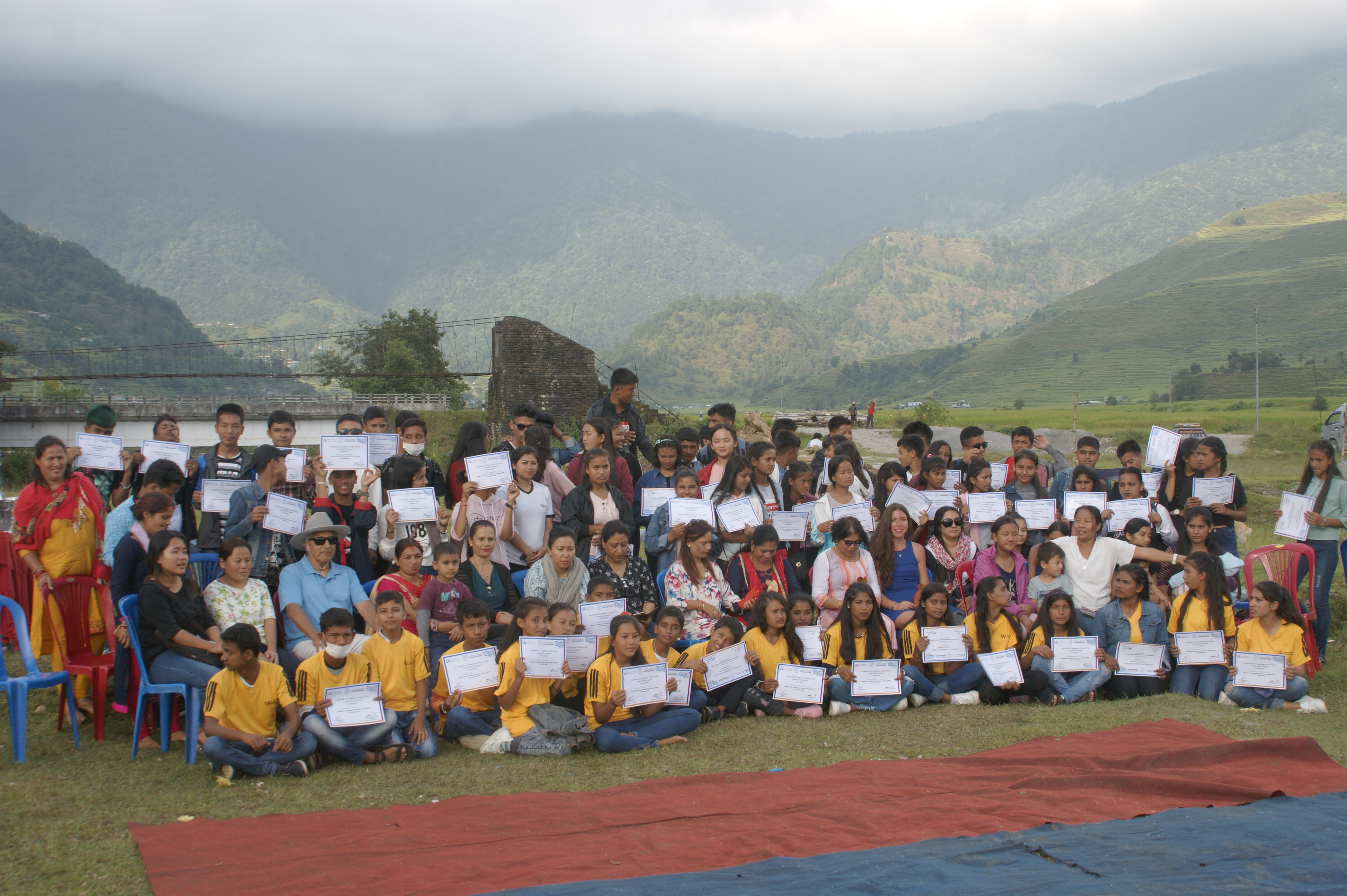 Rural women completed GOAL and GAA programs of Shree Rameshwori Secondary School