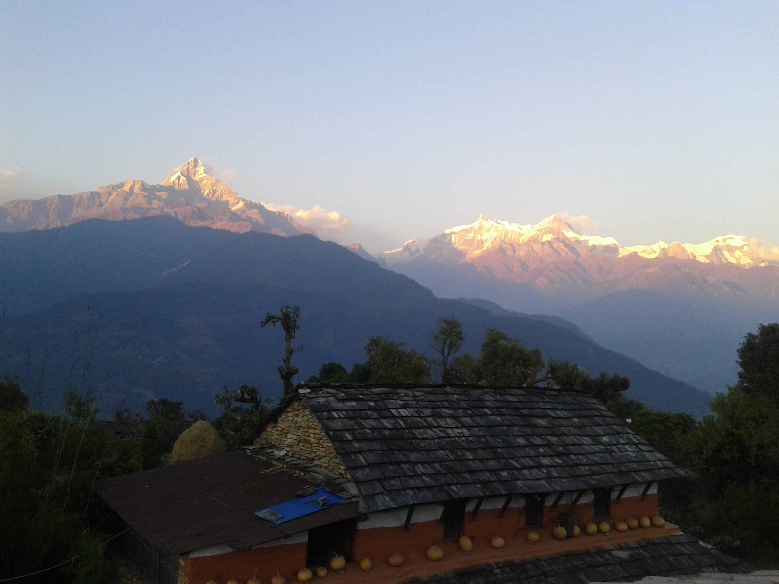 Sunset village trek (Astam, Dhampus)
